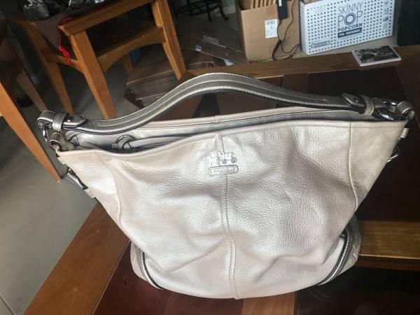 Photo Authentic Coach leather Hobo bag - $20 (University City)