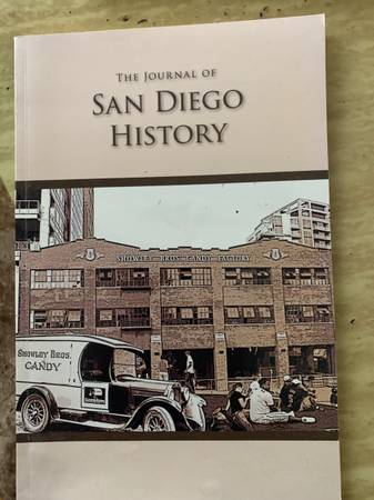 Photo BOOK...The journal of San Diego history by San Diego historical societ - $6 (Sycamore exit off 78 freeway Arco gas station)
