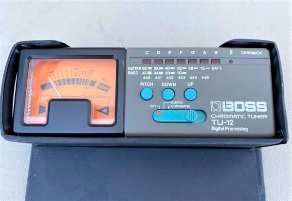 Photo BOSS TU-12 Guitar Tuner Monitor - $55 (Pioneer Industrial Park, San Marcos)
