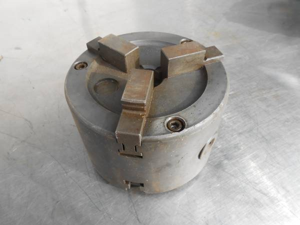 Photo BRAKE LATHE DOUBLE CHUCK FOR CARS  TRUCKS WILL FIT AMMCO ACCU TURN - $550 (OTAY MESA)