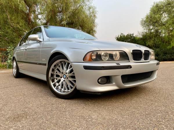 Photo CLEAN 2001 BMW M5 - $32,000 (Rancho Santa Fe)