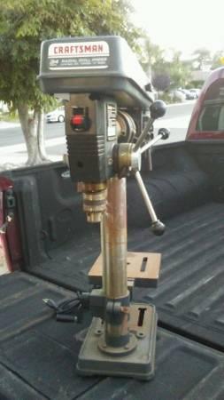 Photo Craftsman Drill Press - $180 (Oceanside)