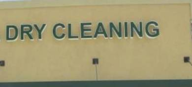 Photo DRY CLEANING Store Front Sign in good condition (Rancho Bernardo)