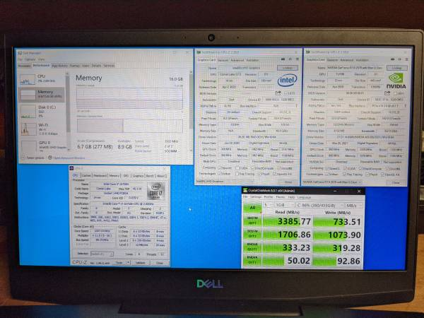 Photo Dell G5 15 Gaming Laptop - $1,100 (Rancho Bernardo)