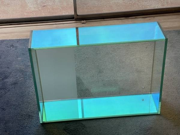 Dichroic Glass Shelves - Great for Bar - $300 (Solana Beach)