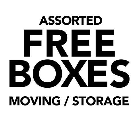 Photo FREE BOXES - moving  storage  shipping (San Marcos)