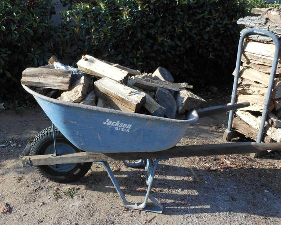 Photo Firewood $20 a wheelbarrow -Fire Wood - $20 (Poway  Rancho Bernardo)