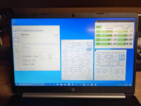 Photo HP 15t-dy100 Laptop - $799 (Rancho Bernardo)