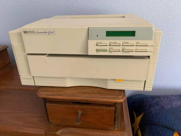 Photo HP Laser Printer - HP 4 MP - $20 (Rancho Bernardo)