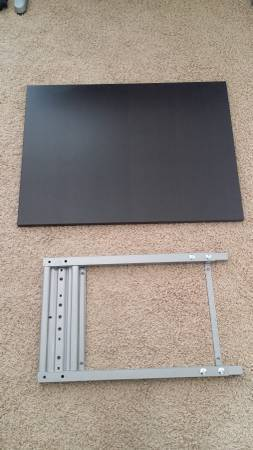 Photo Ikea Black 24quot x 31quot Extensions wFrame  Connecting Rails plus Others (Miramar)
