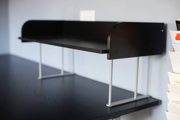 Photo Ikea Black Desk Riser for Any Desks  Desk Accessories ($10  Up) - $10 (San Diego)
