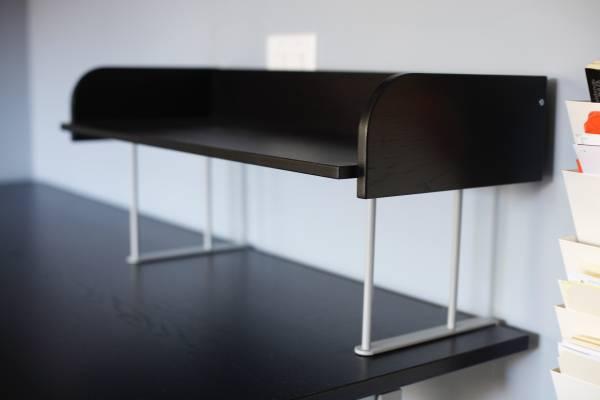 Photo Ikea Black Desk Riser for Any Desks  Desk Accessories ($10  Up) - $10 (San Diego)
