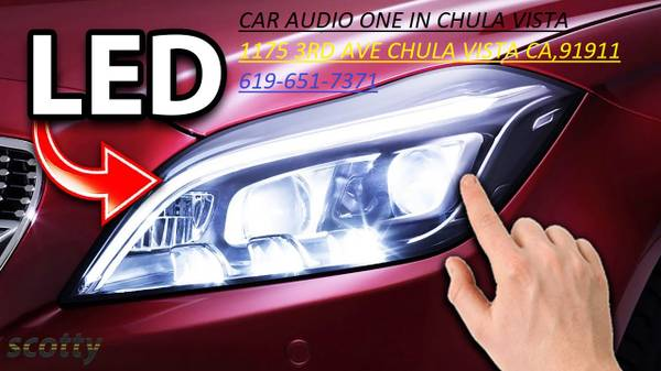 Photo LED LIGHT FOR YOUS CAR - $25 (CAR AUDIO ONE IN 3RD AVE CHULA VISTA)
