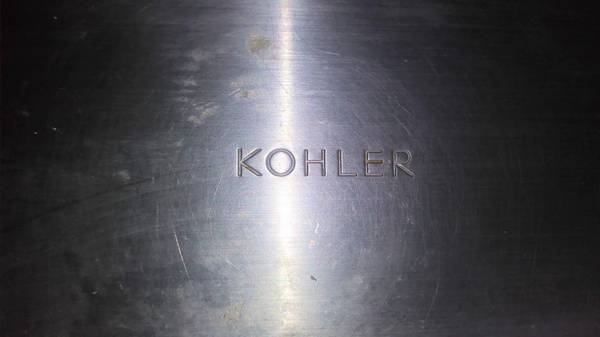 Photo Moen Faucet with Kohler Stainless Steel Sink - $150 (Vista)