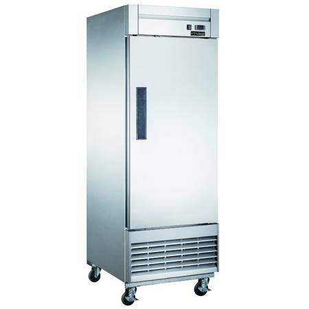 Photo New Commercial One Solid Door Freezer - Stainless Steel Door (2606 Imperial Ave)