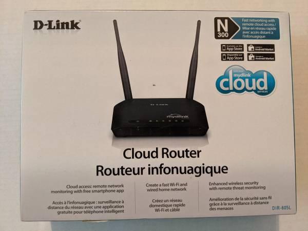 Photo New D-Link Wireless N 300 Cloud App-Enabled Broadband Router DIL-605L - $20 (Rancho Bernardo  Mira Mesa  Poway)