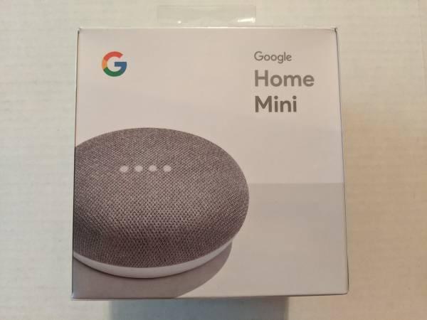 Photo New Google Home Mini Chalk Smart Speaker - $19 (Rancho Bernardo  Mira Mesa  Poway)