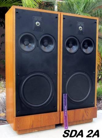 Photo Polk Audio SDA 2A Speakers, pair - $350 (Vista)