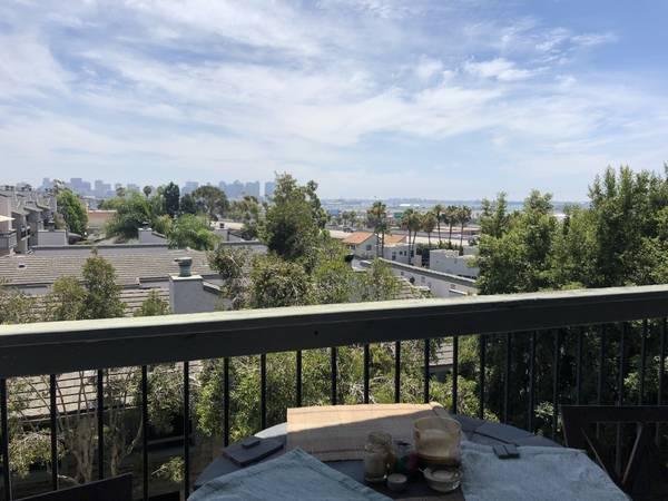 Photo Private room  bath in condo Mission Hills wd, balconies parking (Old town, Mission Hills, close to Hillcrest, La Jolla 15 min)