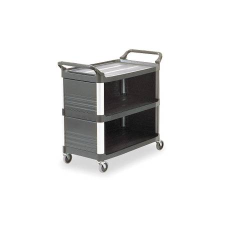 Photo RUBBERMAID COMMERCIAL PRODUCTS HDPE Enclosed Service Cart with 300 lb. - $100 (Carlsbad)
