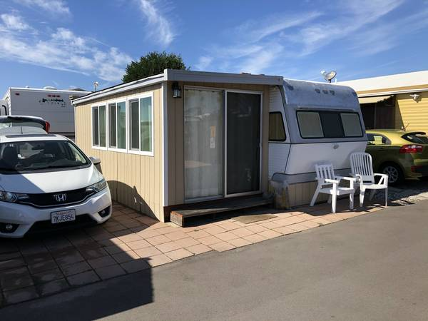 Photo RV Tiny House Mobile Home Trailer WCabana by the beach (North Oceanside)