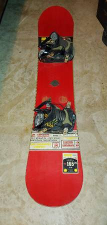 Photo Ride Antic Snowboard With Flow Bindings For Sale - Size 165 CM - $160 (Oceanside)