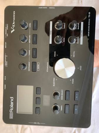 Photo Roland TD-25 Drum Module - $650 (Carmel Mountain)