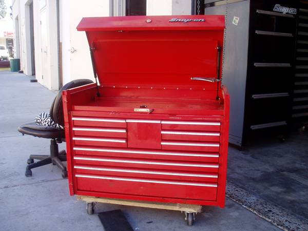 Photo SNAP ON TOOL BOX KRL MASTER SERIES TOP CHEST - $550 (NATIONAL CITY)