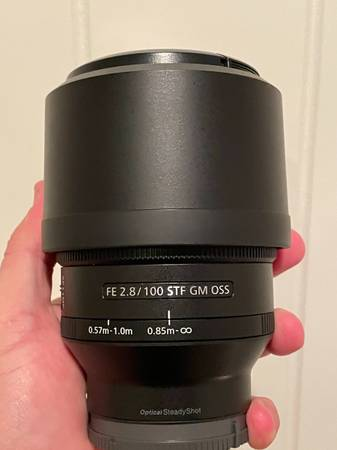 Photo Sony 100mm f2.8 GM STF - $1,000 (Rancho Bernardo)