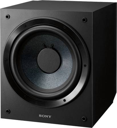 Photo Sony SA-CS9 Core Series 10quot 115W Active Subwoofer - $80 (Poway)