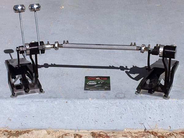 Photo Trick Dominator Double Bass Drum Pedal  Canon double pedal - $500 (Jacumba CA)