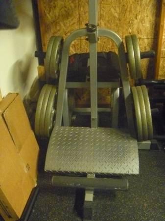 Photo Tuff Stuff Power Squat  Calf Machine - $500 (San Diego)