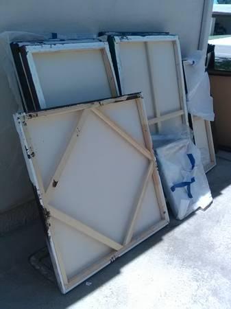 Photo Used Canvases - $100 (Rancho Bernardo)