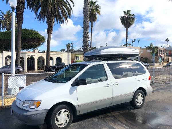Photo Yakima Thule rooftop cargo box for rent - $80 (San Diego)