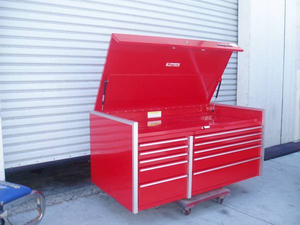 Photo like new snap on master series krl top chest tool box - $3,200 (national city)