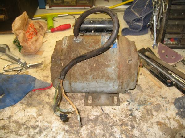 Photo vintage brown and sharpe electric motor-model  3454-34 hp-rpm- 1725 - $65 (sdbay-ho)