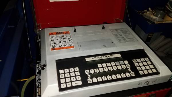 Photo Arc Machines Inc M207 Power Source wAMI Chiller, 5 AMI Weld Heads (Jackson)
