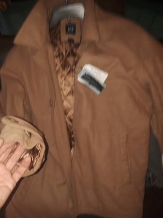 Photo Brand new men39s designer colts winter coats jackets minx leather - $50 (Belleville)