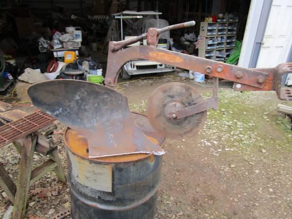 Photo Brinley 10 inch plow for garden tractor - $135 (Republic)