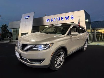 Photo Certified 2017 Lincoln MKX AWD Reserve for sale