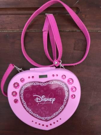 Photo Disney princess portable CD player - $5 (Rootstown)