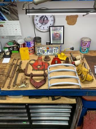 Photo Farmall Cub parts for sale - $1