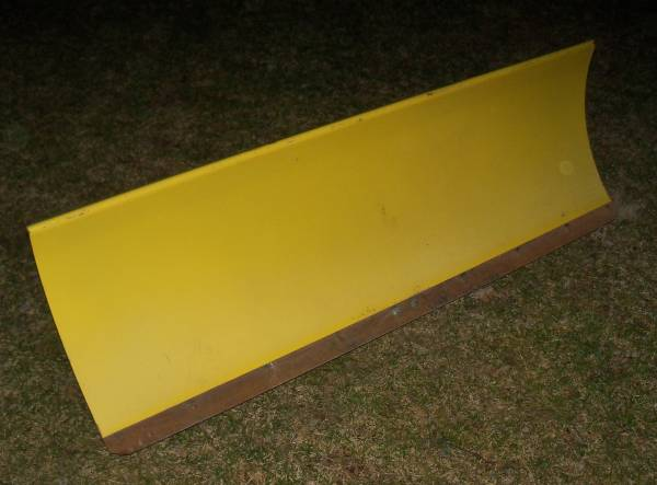 Photo John Deere 425 445 455 54quot Power Angle Front Plow Blade, Quick Hitch - $850 (Huron, OH)
