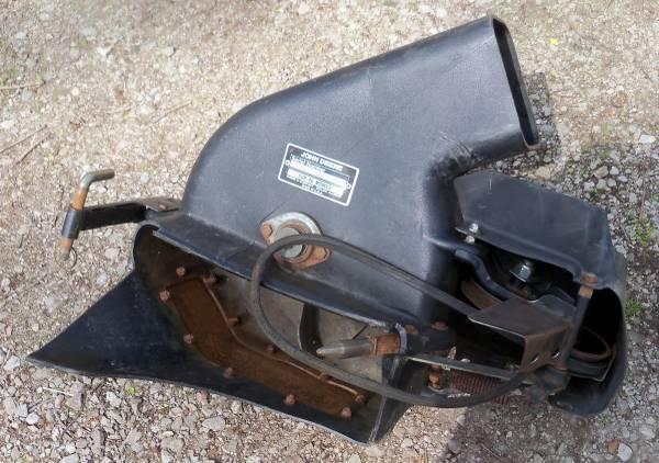 Photo John Deere 46 Deck Power Flow MCS Leaf Bagger 316 317 318 322 330 332 - $300 (Huron, OH)