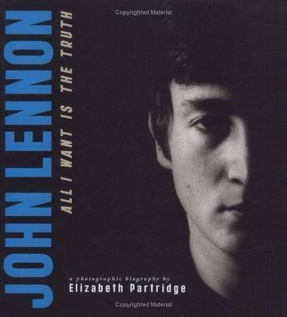 Photo John Lennon All I Want is The Truth - Hardcover (Akron)