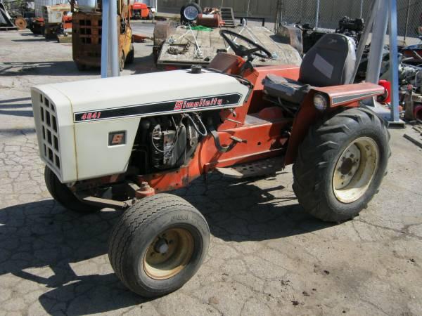 Photo Simplicity Powermax Tractor - $2,200 (Sandusky,Oh.)