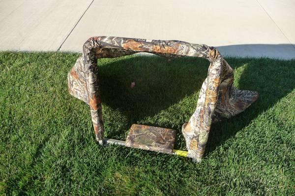 Photo Tree Stand Cover - $10 (North Ridgeville)