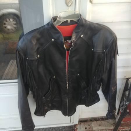 Photo xl mens harley davidson leather jacket - $100 (Fremont)
