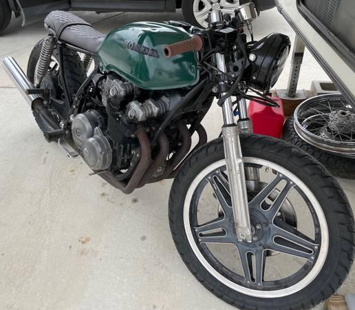 Photo 1979 Honda CB750 Cafe Racer - $4,500 (San Marcos)