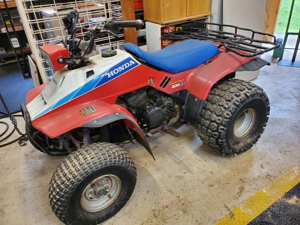 Photo 1986 Honda 4trax 200sx 4-wheeler - $1600 (Canyon Lake)